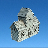 Birdhouse v3 by Dxfprojects.com