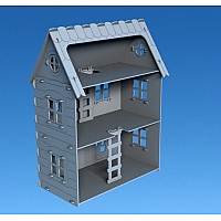 Plywood Doll house V5.6 by Dxfprojects.com - Commercial use license!