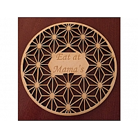 Trivet Asanoha with Engraving Area