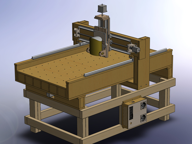 3 axis CNC router MDF