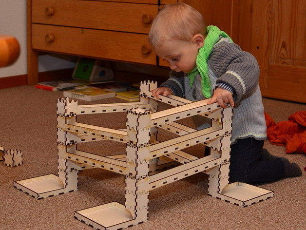 Marble Run, Lego Duplo compatible