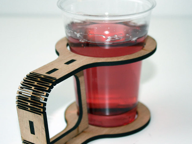 Lasercut cupholder