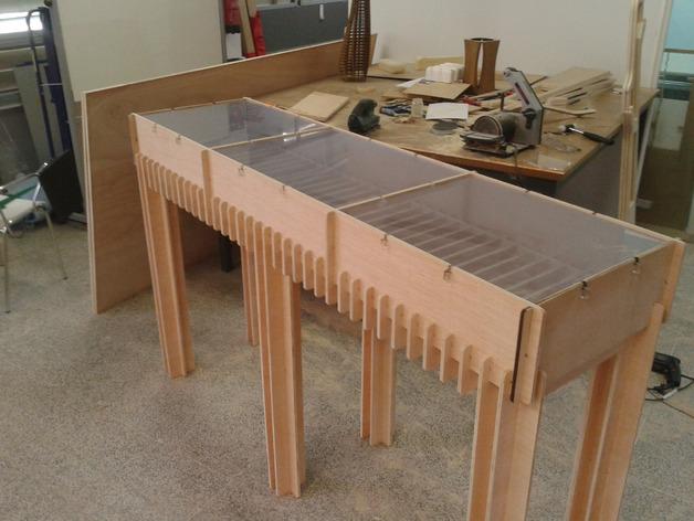 Exhibitor Table Fablab