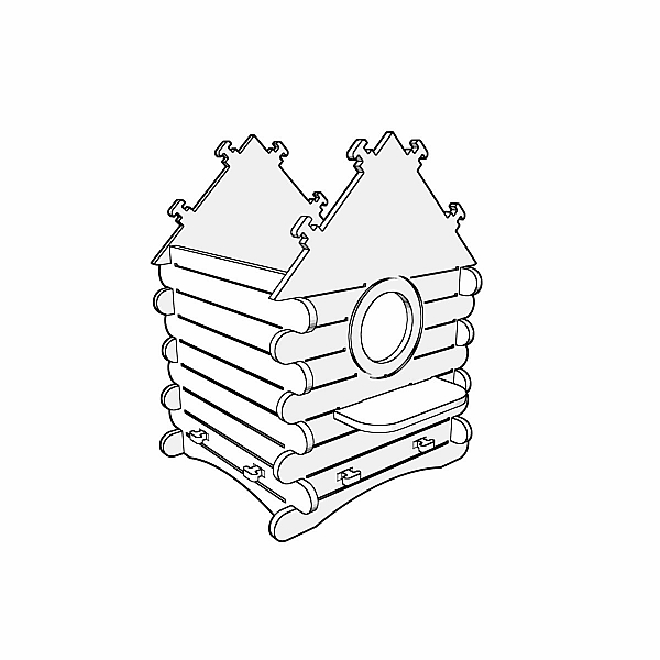 Cnc Router Templates   9 plywood birdhouse cnc pattern laser cut router dxfprojects vectors plans templates dxf svg ai cdr
